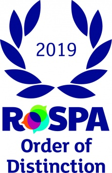 picture : RoSPA Presidents Award